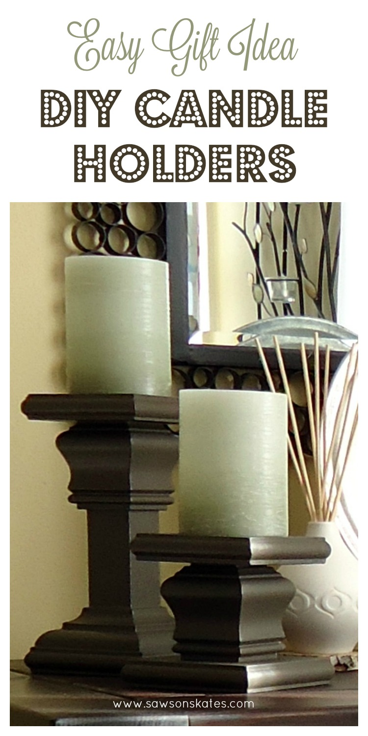 diy candle holders easy gift idea