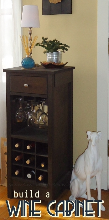 How to build a diy wine cabinet for How to build a dining room hutch