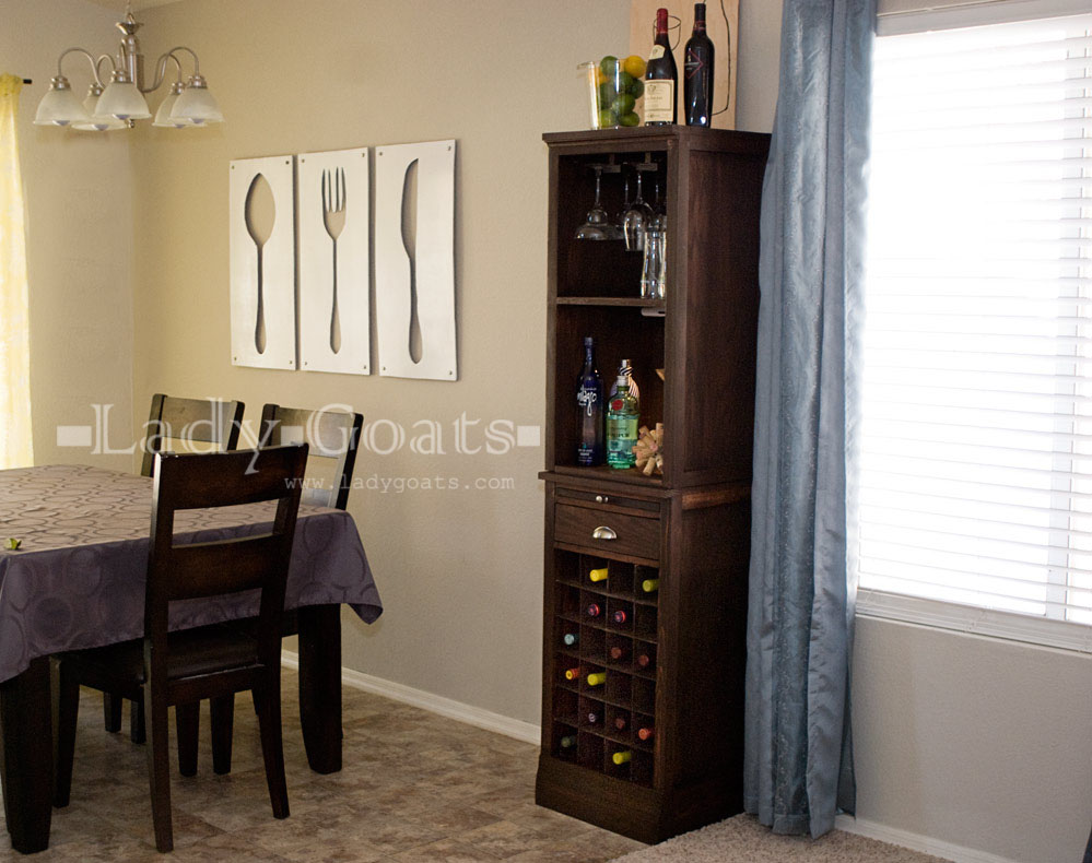 How to build a diy wine cabinet for How to build a wine bar