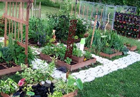 How to make a diy raised garden bed for Square foot garden designs