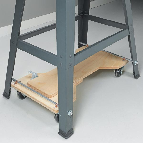 7 ideas to make your tools mobile maximize workshop space for Cheap energy plans