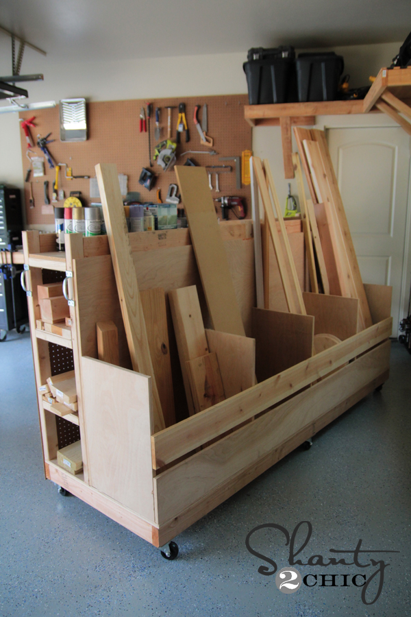 Wood Storage Workbench – The Sawdust Maker