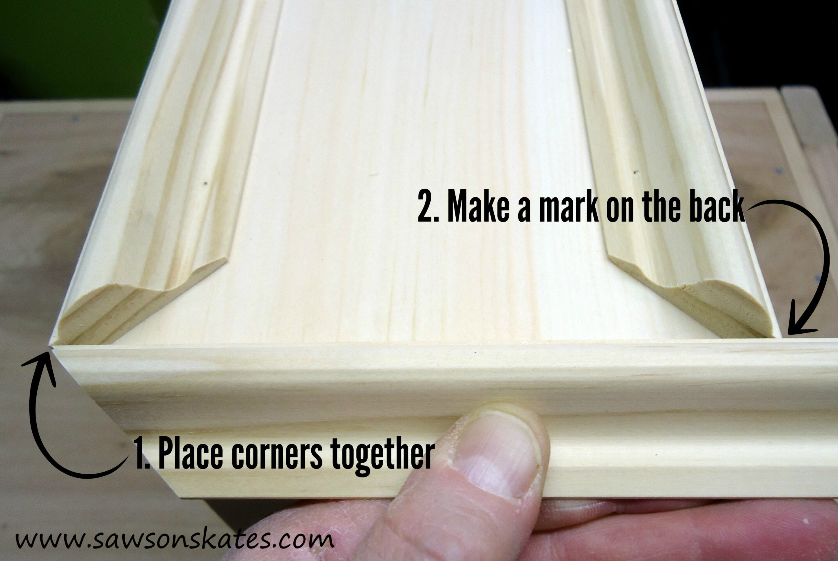 how to miter cut 6