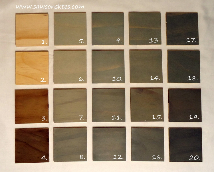 16 Shades Of Grey How To Create The Perfect Grey Stain