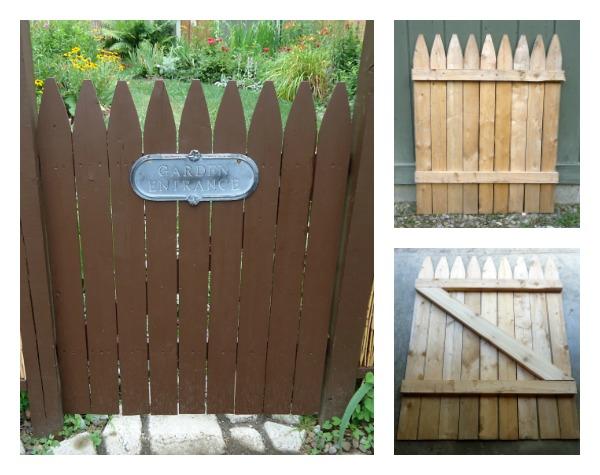 Diy rustic garden gate for How to build a garden gate diy