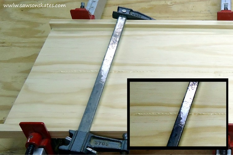 These 6 workshop tips will help you clamp your DIY project like a pro - assembling a book-matched panel