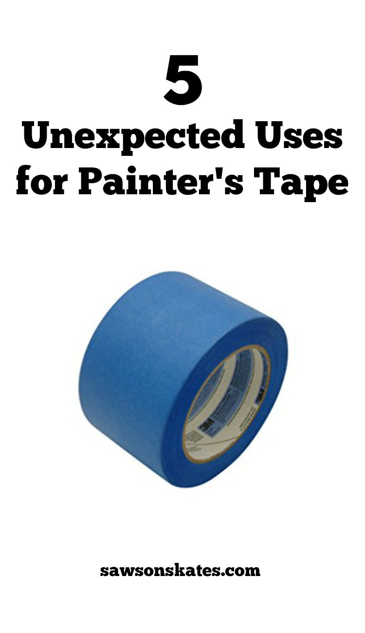 We all know how to use painter's tape for painting projects, but it has other unexpected uses. Here are 5 ideas why you'll want to add painter's tape to your tool box!