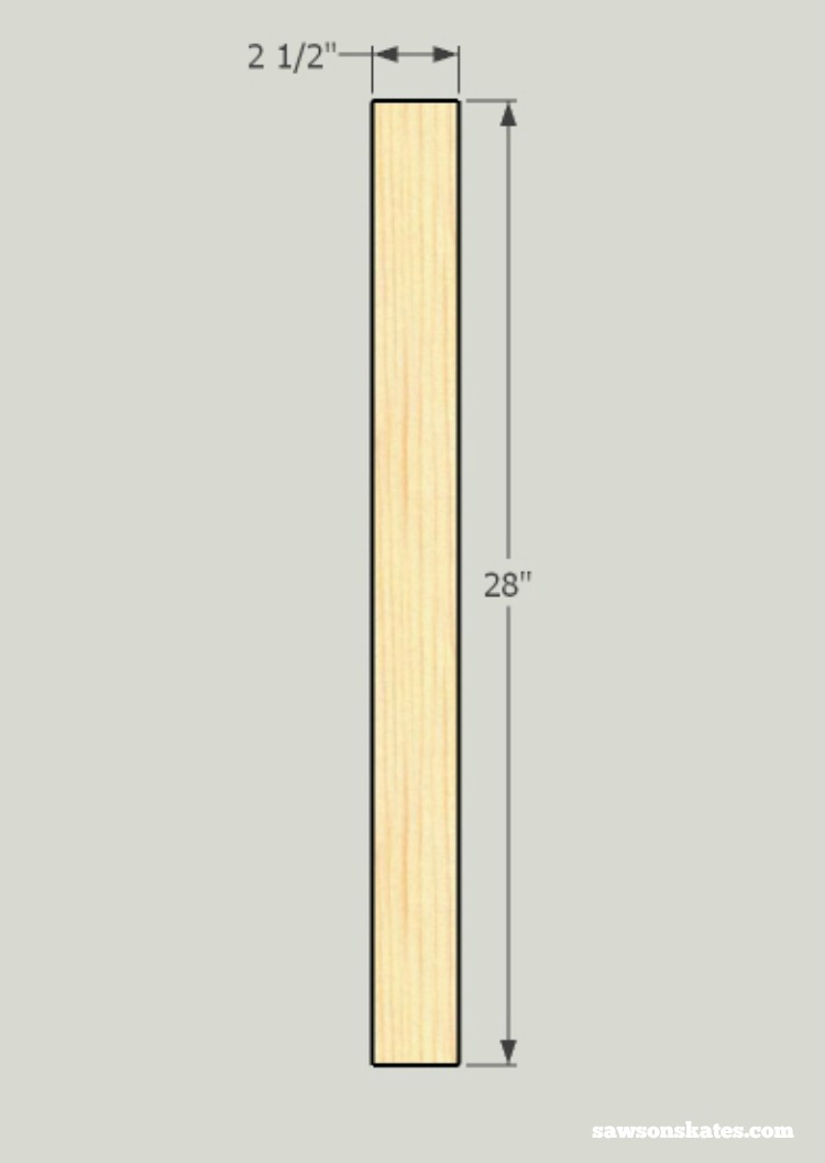 Looking for screen door ideas? Build your own wooden DIY screen door with these plans - cut the middle stile