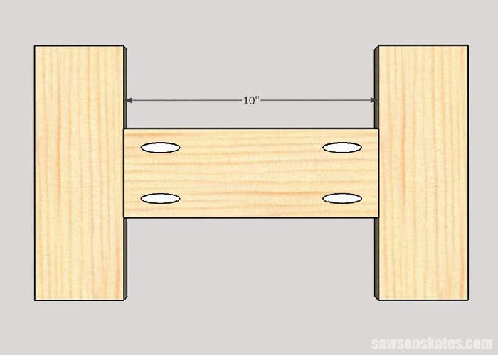 Drilling pocket holes on miter joints - A butt joint joins the end of one piece of wood to the edge of another piece of wood. Common uses for butt joints are frames for side assemblies and door frames.