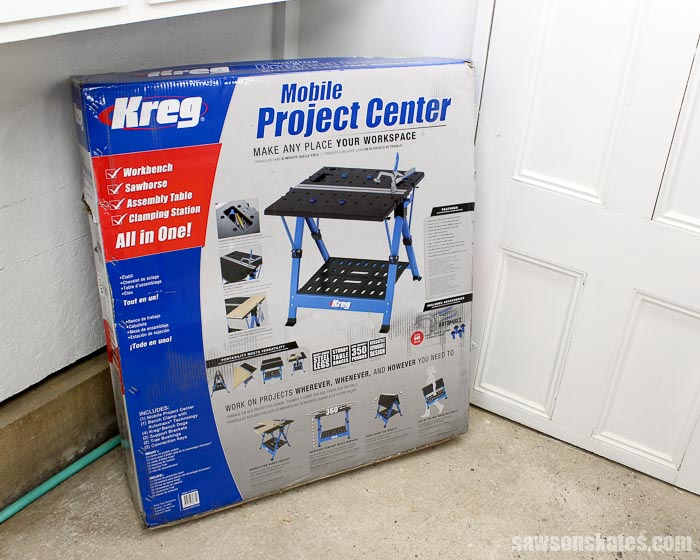 Best Workbench Features - with the Kreg Mobile Project Center you can make any place your workspace!