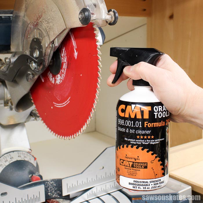 Workshop Problems Solved - Your dull saw blade may actually be dirty