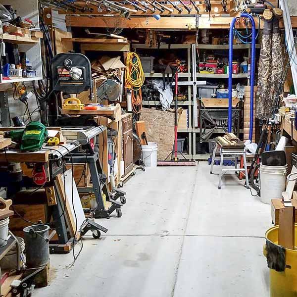 One Car Garage Organization Ideas