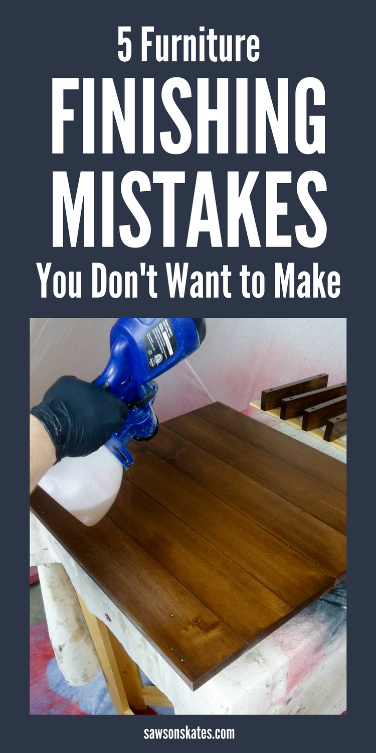 I've tried so many techniques for finishing my DIY furniture and I'm always frustrated with the result. Then I found these great ideas! There's sanding tips, a wood filler recipe, how to prevent blotchy wood, products to use, and stain recommendations.