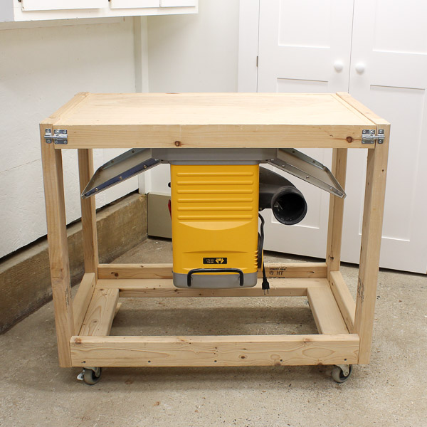 DIY Fliptop Workbench Cart