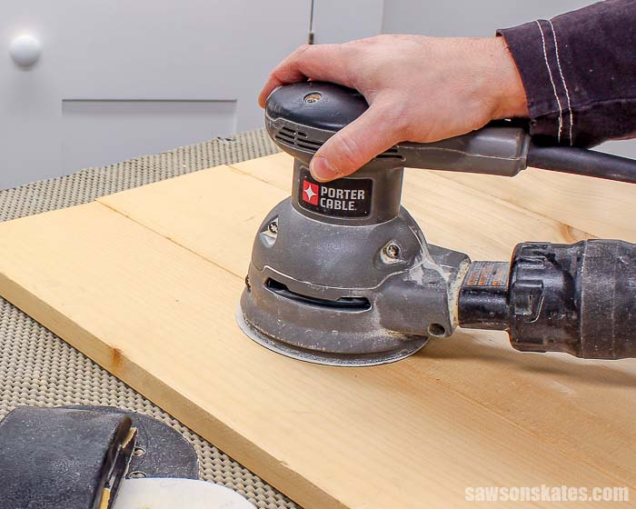 Sanding is the first step to preparing wood for paint or stain. These sanding secrets will help you sand your DIY projects like a pro.