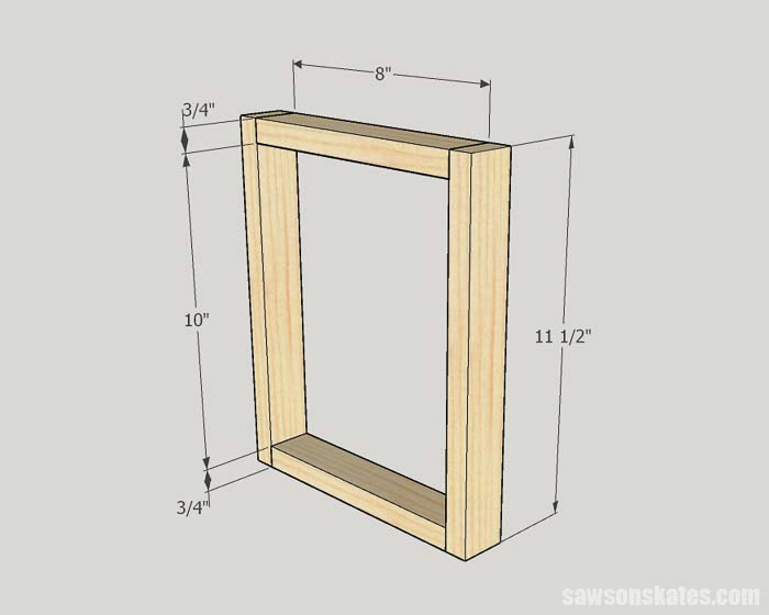Making picture frames with wood