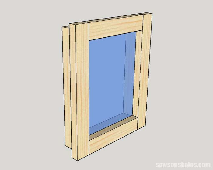DIY custom frames can be made on the cheap with inexpensive wood