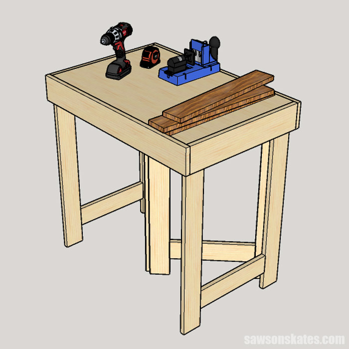 These 6 DIY workbench ideas are perfect for a small workshop, garage, or shed. Each plan is easy to build with some simple tools.