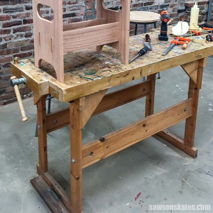 3 Reasons Why I Don T Use A Woodworking Bench What I Use Instead Saws On Skates