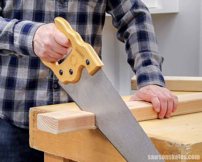 Learn how to cut wood with confidence! We'll look at the different types of cuts, the best saws to make those cuts, and tips for making accurate cuts.