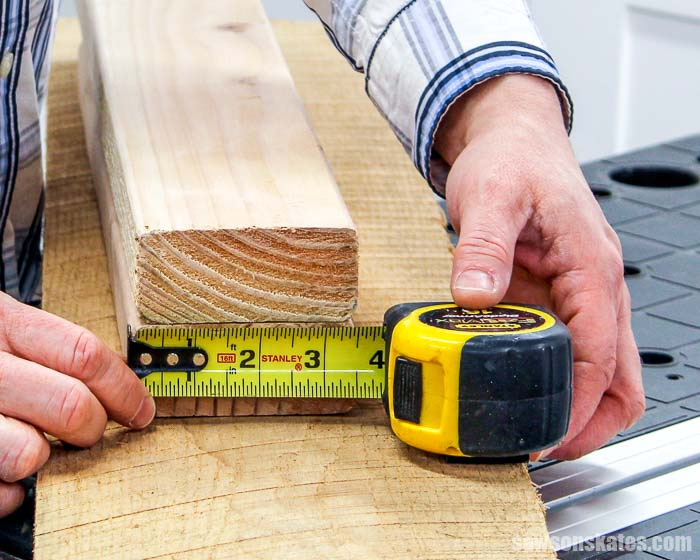 Wood sizes are confusing! Why is a 2x4 not 2 inches by 4 inches? I'm sharing why actual wood sizes are different so you can understand how and what to buy.
