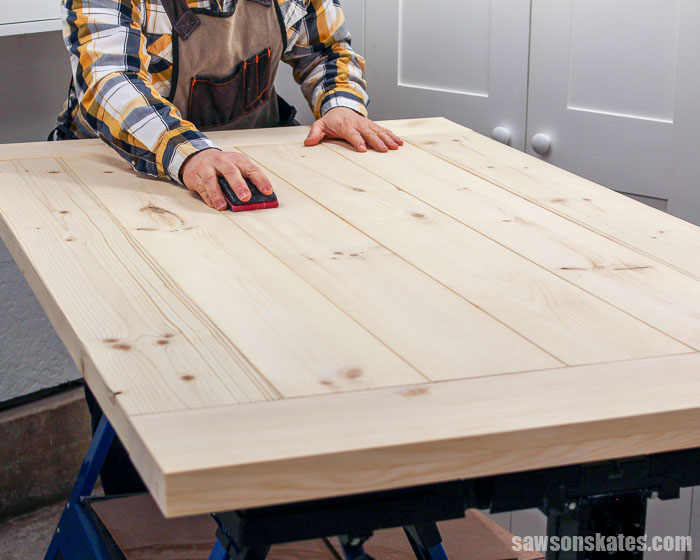 DIY Farmhouse tables can crack if breadboard ends are attached with pocket screws. Get the same look and reduce the chance of cracks with this easy solution.
