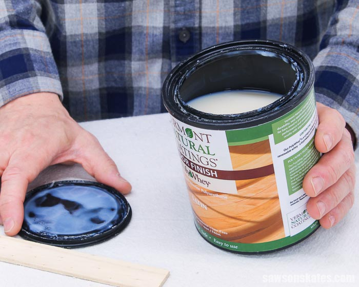 Opening a can of polyurethane alternative made with whey