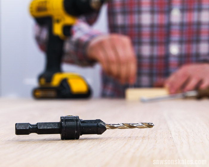 Learn how to use a countersink bit with this step-by-step tutorial. We'll look at what it does, why you need one, and what size countersink bit you need.
