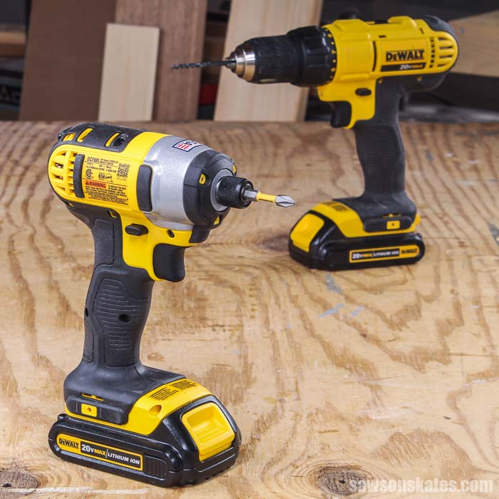 An impact driver and a drill look similar, but they are not the same. It's important to know the differences, so you choose the right one for your project.