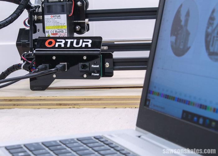 Mainboard of an Ortur Laser Master 2 laser engraver