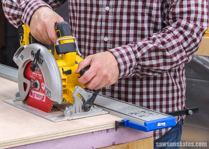 The Kreg Straight Edge Guide helps circular saws, jigsaws, and trim routers make straight, accurate cuts. Learn how to set it up and if I would use it again.