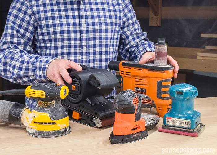 Sanders do similar things but are not the same. It's important to know the differences so you choose the best sander for sanding your furniture projects.